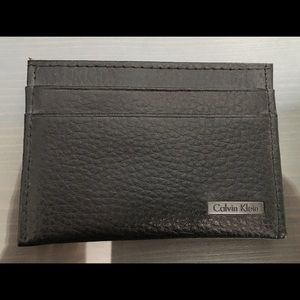 Calvin Klein men's minimal wallet